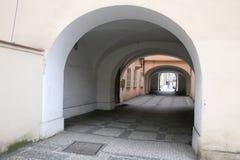 Rue Prague Photographie stock