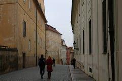 Rue Prague Photos stock