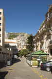 Rue Princesse Antoinette, Monaco Photo libre de droits