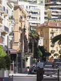 Rue Princesse Florestine, Monaco. Stock Image