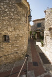 Rue Principale in Èze Village, France Royalty Free Stock Images
