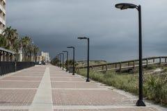Rue principale de plage de Jacksonville Photo libre de droits