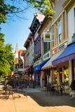 Rue principale de village Image stock