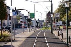 Rue principale Griesheim Photos stock