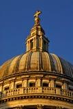 rue R-U de pauls de l'Angleterre Londres de cathédrale photos libres de droits