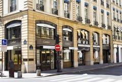 Rue Saint Honore fotografering för bildbyråer
