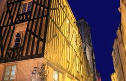 Rue Saint-Sauver, La Rochelle ( France ) Royalty Free Stock Photography