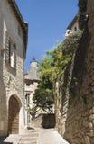 Rue Saint Theodorit i Uzes fotografering för bildbyråer