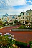 Rue San Francisco de Lombar Photos libres de droits