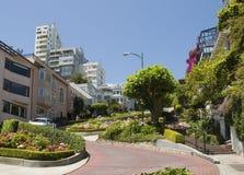 Rue San Francisco de Lombard Image libre de droits