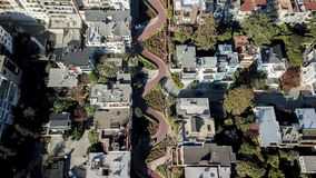Rue San Francisco Etats-Unis de Lombard photos libres de droits