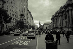 Rue Scape de New York City Photos stock