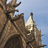 Rue-Severin d'Eglise Photos stock