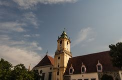 Rue Slovaquie de Bratislava images stock
