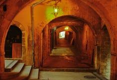 Rue souterraine Image libre de droits