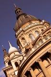 Rue Stephen de basilique à Budapest Photographie stock libre de droits
