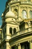 Rue Stephen de basilique à Budapest Photo libre de droits