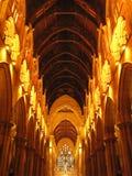 rue Sydney de Mary s de cathédrale de l'australie Photos libres de droits