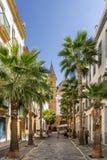 Rue typique en Séville Photos libres de droits