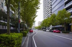 Rue urbaine Rhodes Sydney Australia photos libres de droits