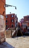 Rue vénitienne Image libre de droits
