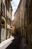 Rue van Provençale royalty-vrije stock afbeelding