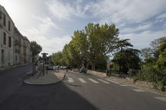Rue Vauban, Arles, Γαλλία Στοκ Εικόνες