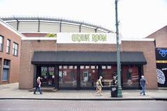 Rue verte de Beale de pièce, Memphis, TN photo libre de droits