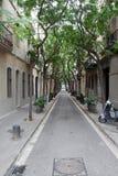Rue vide Photos stock