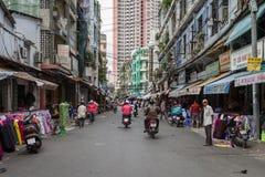 Rue vietnamienne Photos libres de droits