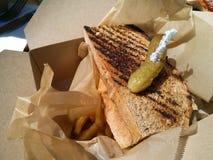 Rueben Sandwich Stock Foto's