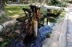 Rueda de agua Fotografía de archivo libre de regalías