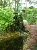 Rueda de agua Foto de archivo libre de regalías