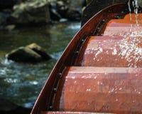 Rueda de agua del oeste de Virgina Imagenes de archivo