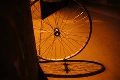 Rueda de bicicleta imagen de archivo libre de regalías