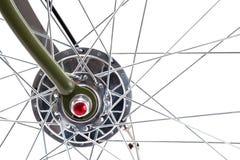 Rueda de bicicleta del vintage Imagen de archivo libre de regalías