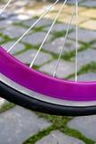 Rueda de bicicleta. Detalle 2 fotos de archivo libres de regalías