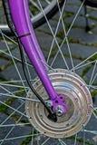Rueda de bicicleta. Detalle 12 foto de archivo libre de regalías