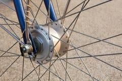 Rueda de bicicleta retra Foto de archivo