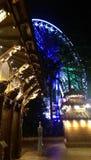 Rueda de Brisbane y pagoda nepalesa Imagenes de archivo