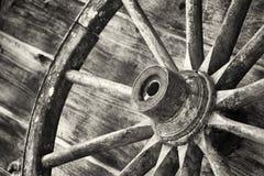 Rueda de carro Imagenes de archivo