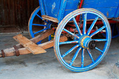 Rueda de carro antigua Imagen de archivo