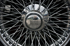 Rueda de coche de deportes Foto de archivo libre de regalías