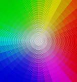 Rueda de color Fotografía de archivo libre de regalías