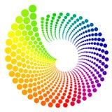 Rueda de color Imagenes de archivo
