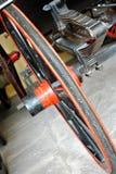 Rueda de color anaranjada foto de archivo libre de regalías