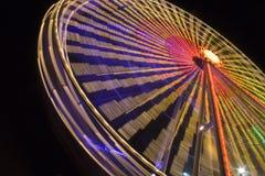 Rueda de Ferris colorida imagen de archivo