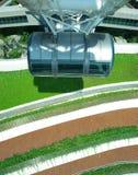 Rueda de Ferris del aviador de Singapur   Foto de archivo libre de regalías
