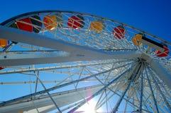 Rueda de Ferris del embarcadero de Santa Mónica Imagen de archivo libre de regalías