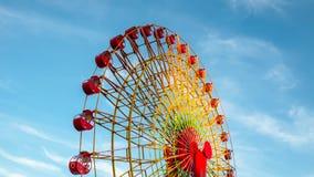 Rueda de Ferris gigante Foto de archivo libre de regalías